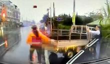 快新聞/與安親班專車相撞 嘉義縣貨車司機頭上有6公分撕裂傷