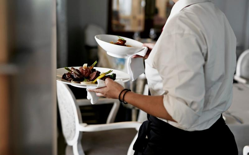 Hospitality industry - Getty