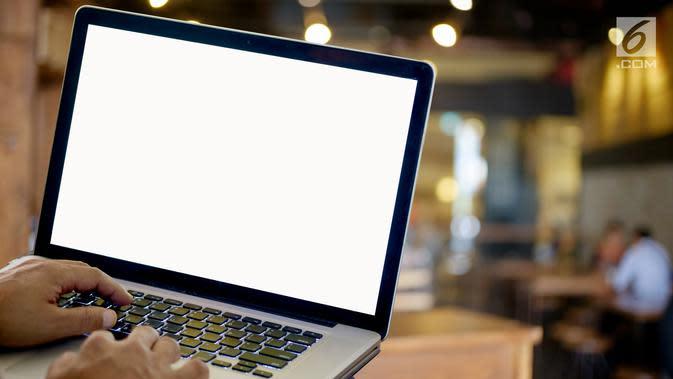 Ilustrasi laptop (iStockPhoto)