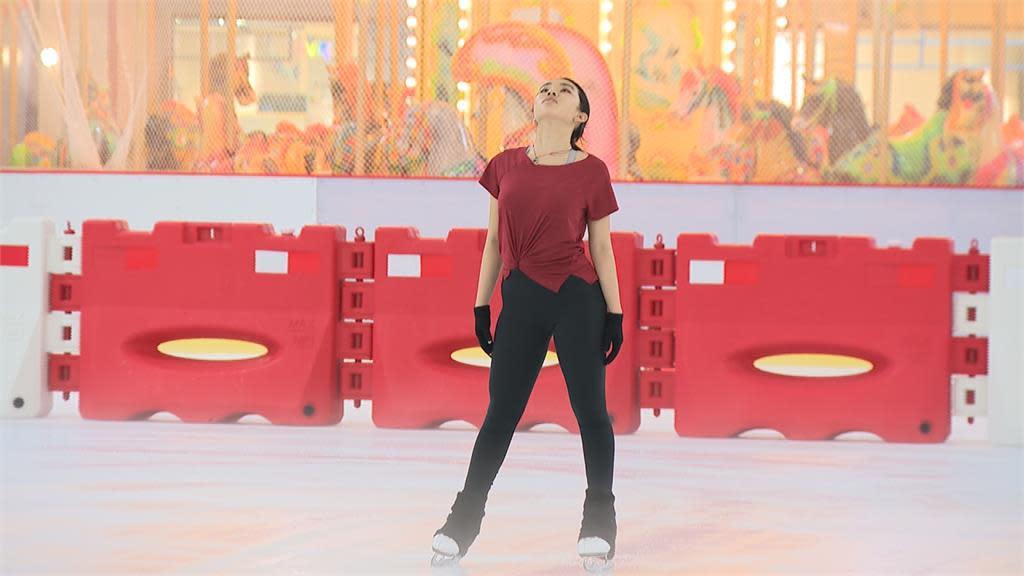 19歲台裔美籍滑冰明星 從跌倒挫折中學到不輕言放棄