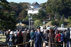Ribuan orang nantikan acara langka, parade kekaisaran Jepang