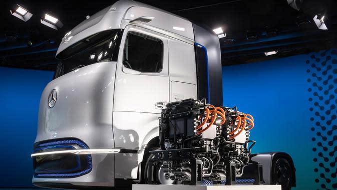 Mercedes GenH2 Berbahan Bakar Hidrogen, Ini Spesifikasinya
