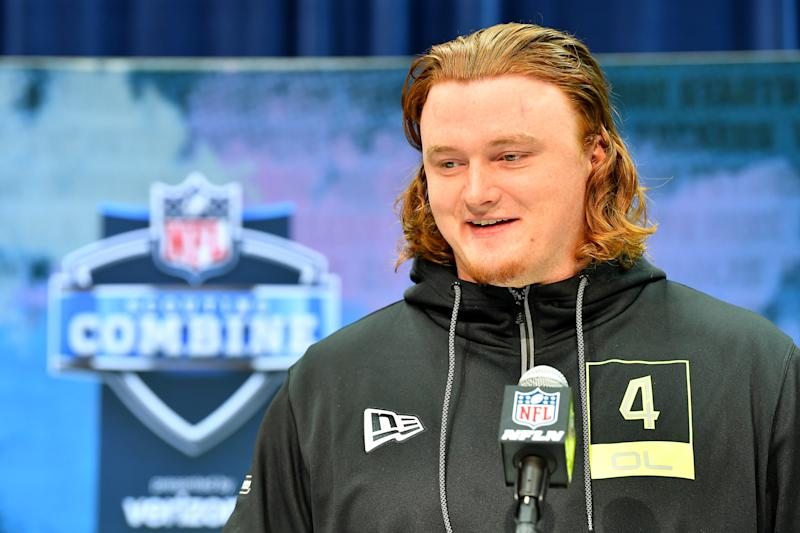 St. John's (Minn.) OL Ben Bartch gained more than 50 pounds by drinking an awful-sounding beverage two years ago. (Photo by Alika Jenner/Getty Images)