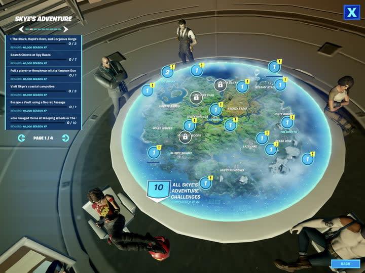 Fortnite Week 7 Challenges Season 2