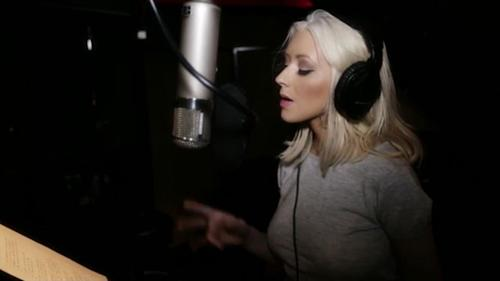 BTS with Christina Aguilera & A Great Big World