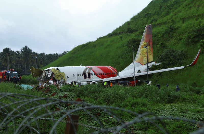 India air safety watchdog to check airports hit by heavy rain after crash