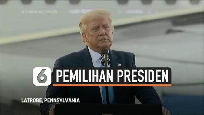 VIDEO: Donald Trump Serang Saingannya Joe Biden