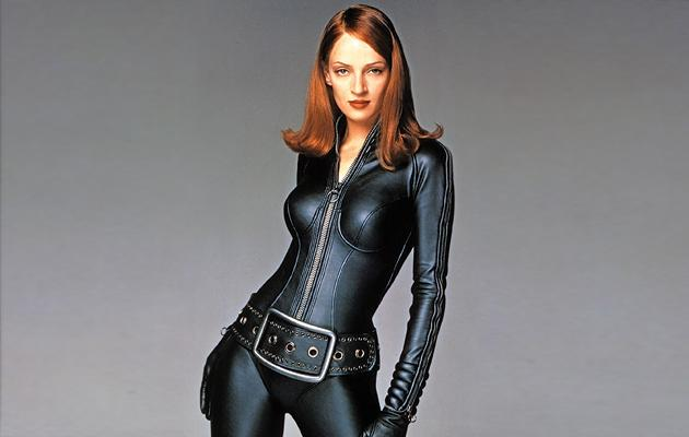 Cinematic Catsuit Competition, 2012, Uma Thurman, The Avengers
