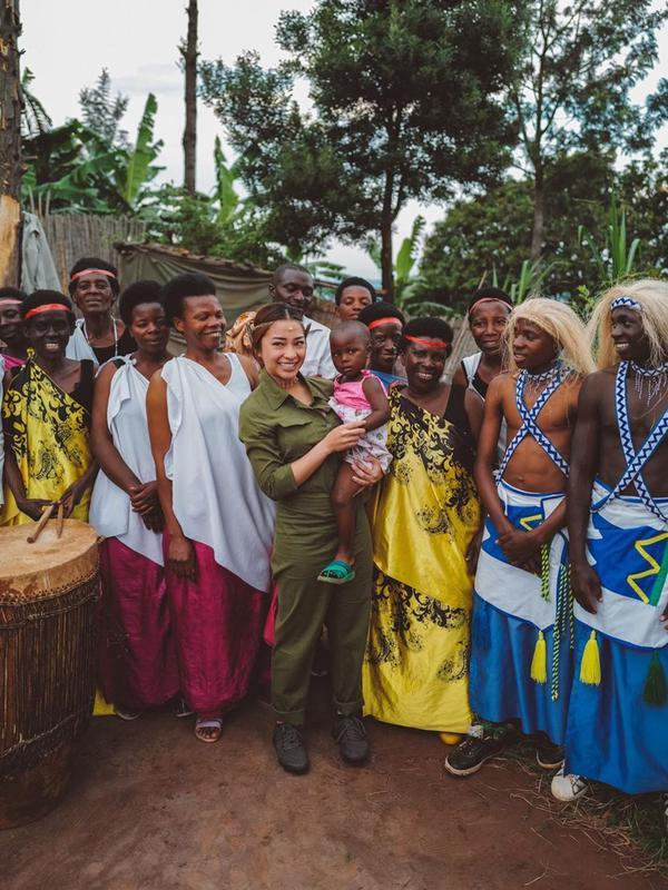 Potret Nikita Willy Belajar Budaya Nyungwe (sumber: instagram/nikitawillyofficial94)