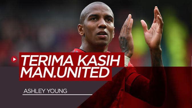 VIDEO: Ashley Young Tulis Pesan Mengharukan Usai Tinggalkan Manchester United