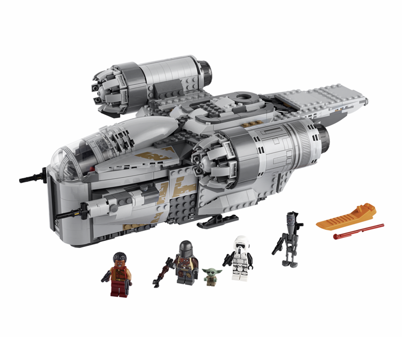 "<p><strong>Star Wars™</strong></p><p>lego.com</p><p><strong>$129.99</strong></p><p><a href=""https://go.redirectingat.com?id=74968X1596630&url=https%3A%2F%2Fwww.lego.com%2Fen-us%2Fproduct%2Fdefault-the-mandalorian-bounty-hunter-transport-au-the-razor-crest-nz-the-razor-crest-75292&sref=https%3A%2F%2Fwww.popularmechanics.com%2Fculture%2Fg3243%2Fnerdy-gifts%2F"" target=""_blank"">Buy Now</a></p><p>Unlike with a certain trilogy, most Star Wars fans agree that The Mandalorian is a compelling (if Jedi-less) entry in the galactic canon. And though this Razor Crest set is a relatively humble 1,023 pieces (compared to the Star Destroyer below), you don't necessarily have to complete it—throw some of the pieces on if you're going for that episode two, ransacked-by-Jawas look. Regardless, it's a worthy addition to any Lego collection.</p>"