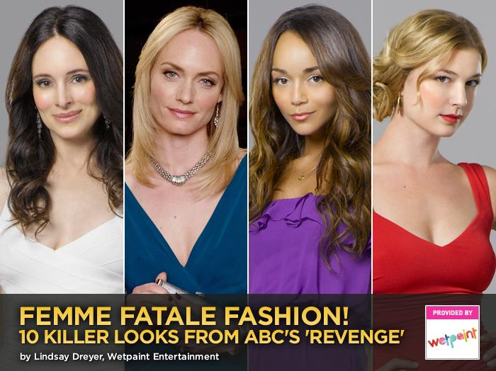 Femme Fatale Fashion! 10 Killer Looks From ABC's 'Revenge'