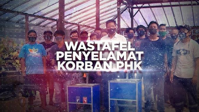 VIDEO BERANI BERUBAH: Wastafel Penyelamat Korban PHK