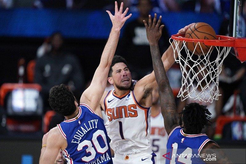 Suns lanjutkan tren sempurna sejak restart NBA