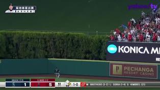 【MLB好球】Ward猛打還開轟 天使打爆菊池
