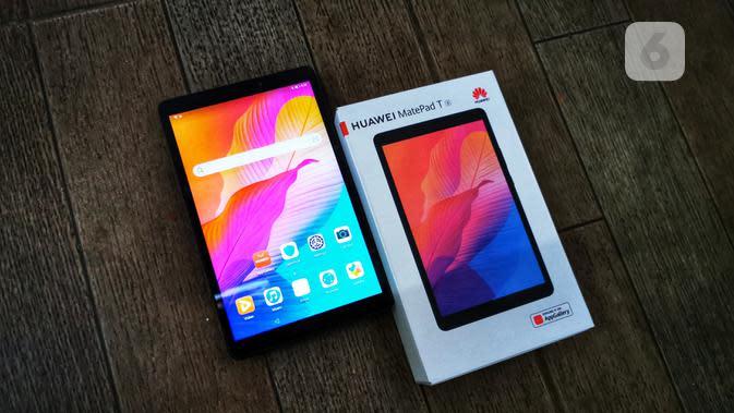 Huawei Matepad T8. Liputan6.com/Mochamad Wahyu Hidayat