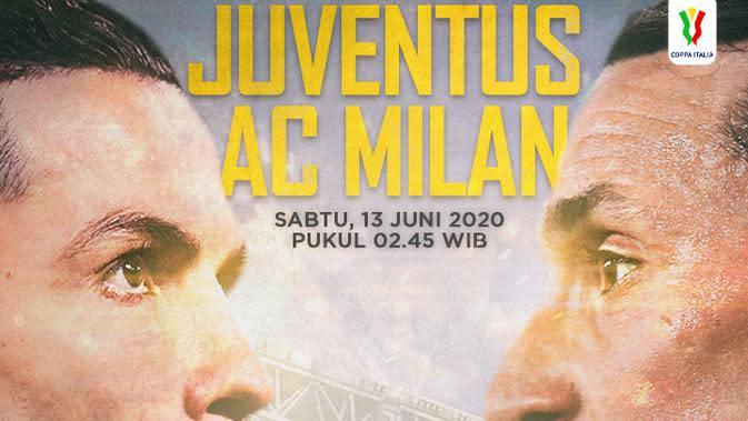 Coppa Italia - Juventus Vs AC Milan - Head to Head Pemain (Bola.com/Adreanus Titus)