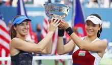 網球》瑞士公主辛吉絲宣布最後一站 詹詠然將單獨成世界雙打球后