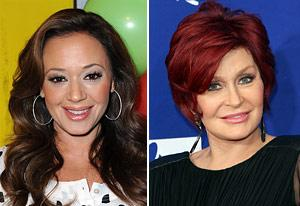 "Leah Remini: Sharon Osbourne Got Me Fired From The Talk For Being ""Ghetto"""
