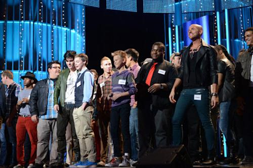 'American Idol' Goes To Hollywood: Boys' Town