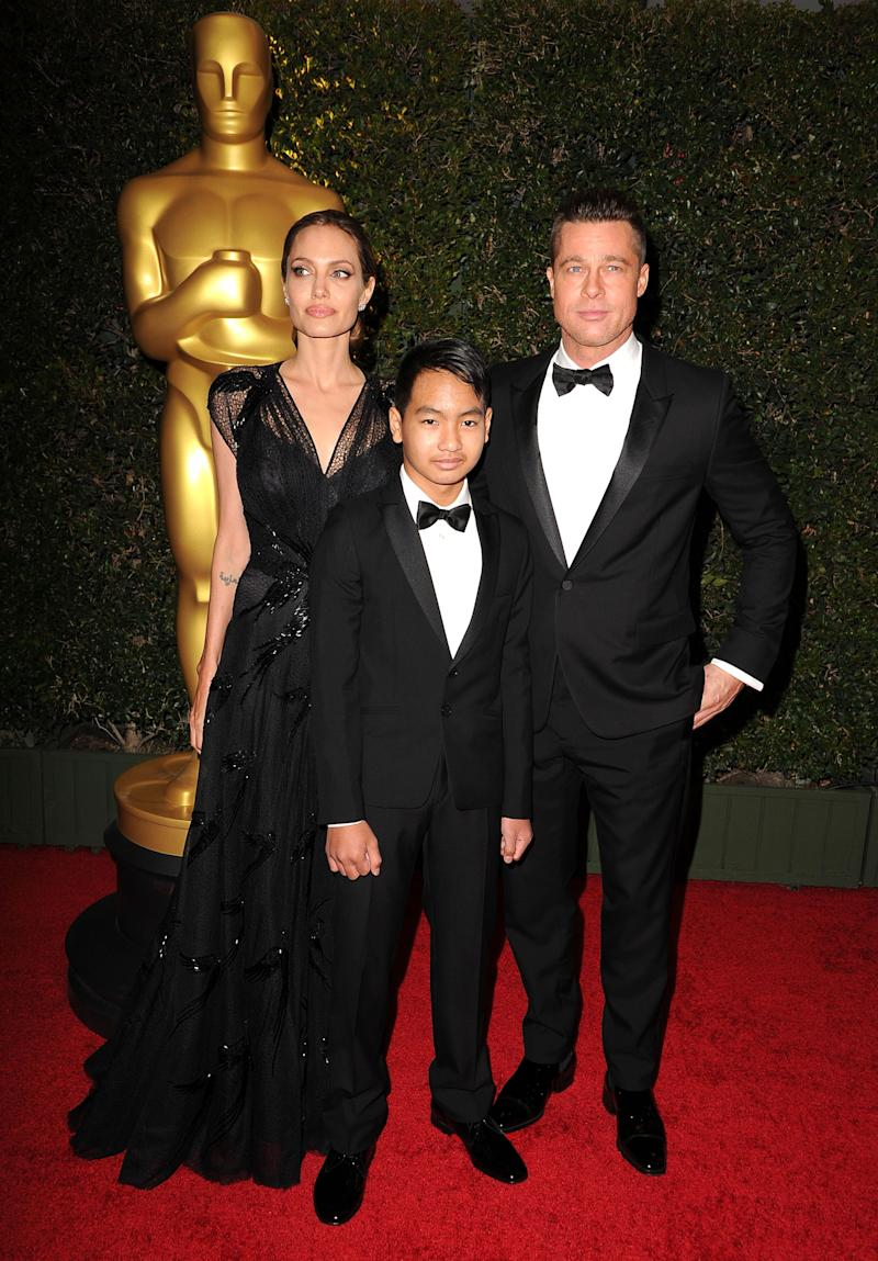 The pair enjoyed a close relationship during Brad Pitt's marriage to Angelina Jolie. Photo: Getty Images