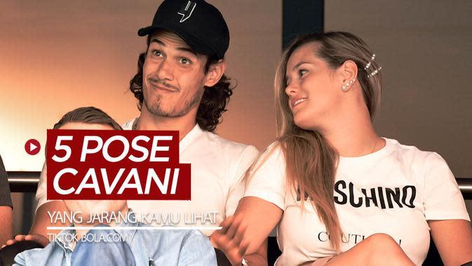 Berita video TikTok Bola.com kali ini membahas 5 pose striker Manchester United, Edinson Cavani, yang mungkin kamu jarang lihat. Seperti apa saja?