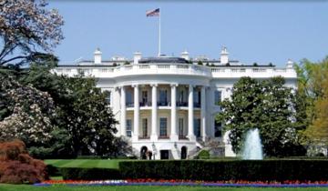 美國白宮南面。圖:維基百科