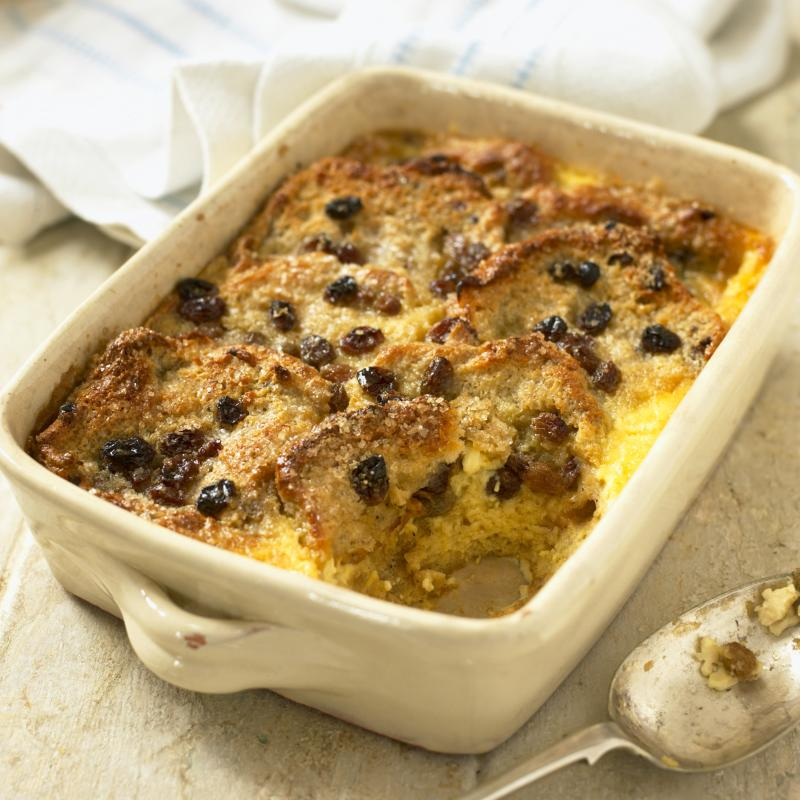 This is bread pudding. Photo: Getty Images