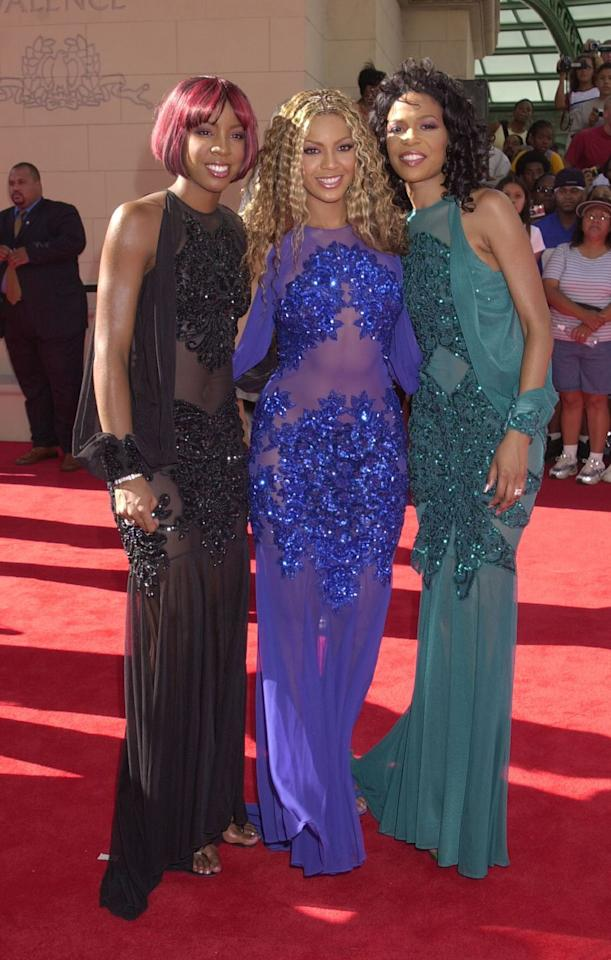 <p>When things were right in the world and the trio known as Destiny's Child were still together. </p>