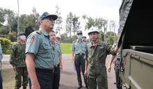 陸軍副司令視導汽車基地勤務廠