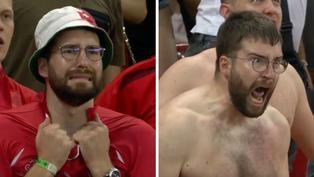 瑞士足球狂粉浮誇反應曝光 「兩分鐘變化」成爆紅迷因