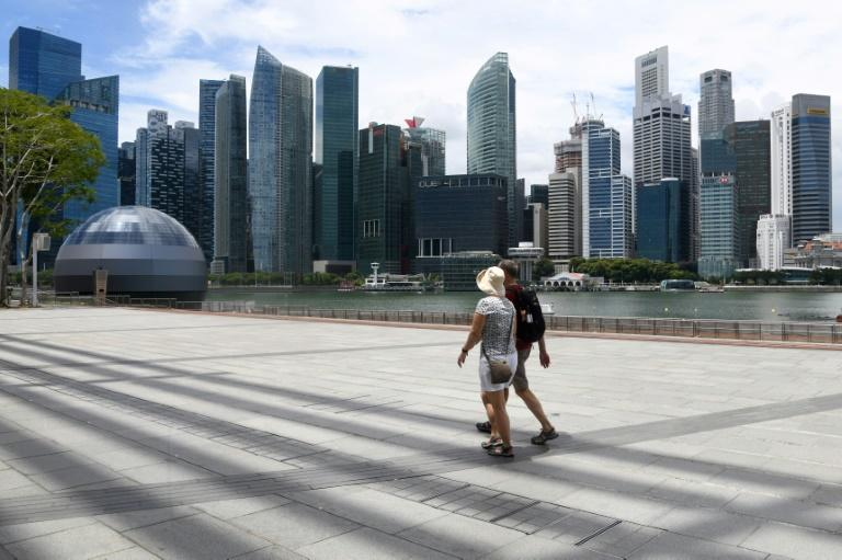 Trade-reliant Singapore is typically among the first countries to be hit during global crises because of its small and open economy