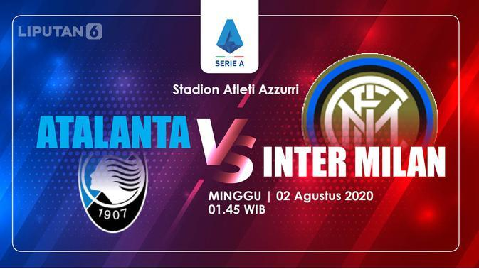 Atalanta vs Inter Milan (Liputan6.com/Abdillah)