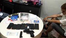 國中畢業網路自學改造手槍 三重公寓藏百萬海洛因