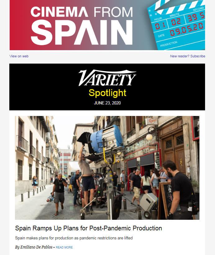 Cinema from Spain