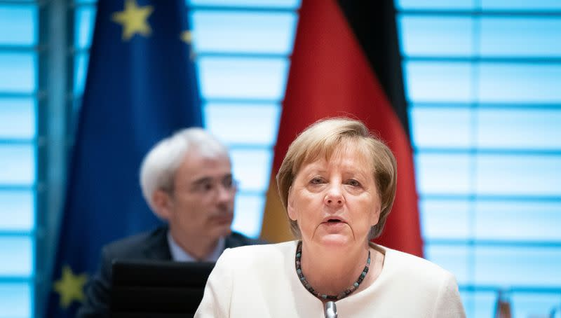 Germany to tighten COVID curbs but no national shutdown - Merkel