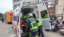 台中停車場意外 男子摔落機械車位下層命危送醫 (圖)