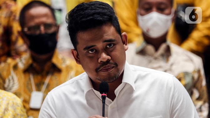 Calon Wali Kota Medan, Bobby Nasution, pada Pilkada 2020.