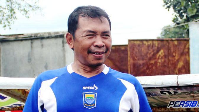 Sutiono Lamso, salah seorang pemain fenomenal yang dimiliki Persib. (Bola.com/Persib.co.id)