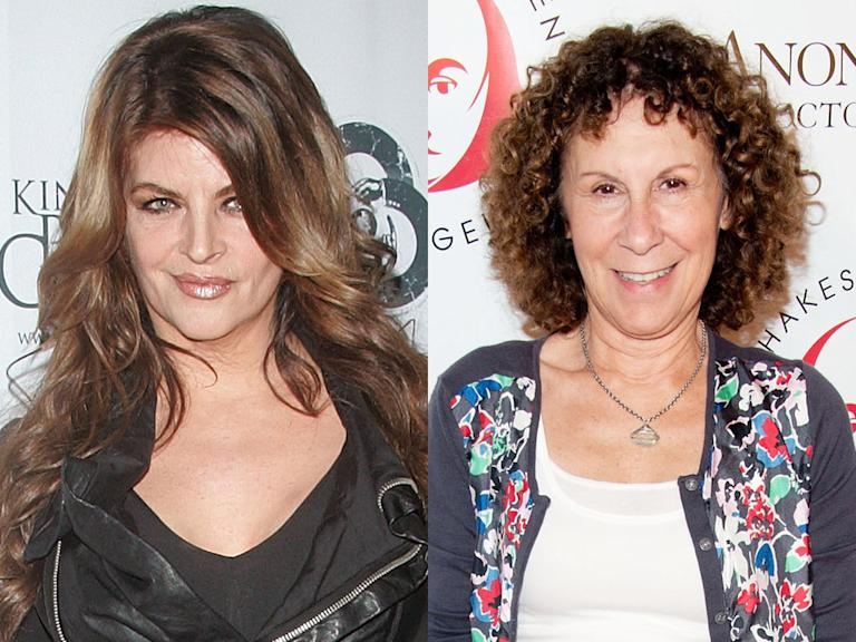Kirstie Alley and Rhea Perlman (The Manzanis, ABC)