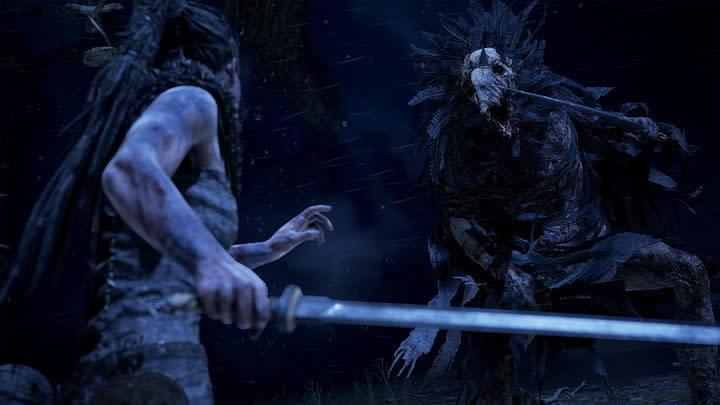 Hellblade: Senua's Sacrifice skull monster