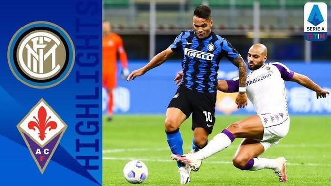 VIDEO: Highlights Liga Italia, Drama 7 Gol Inter Milan Vs Fiorentina