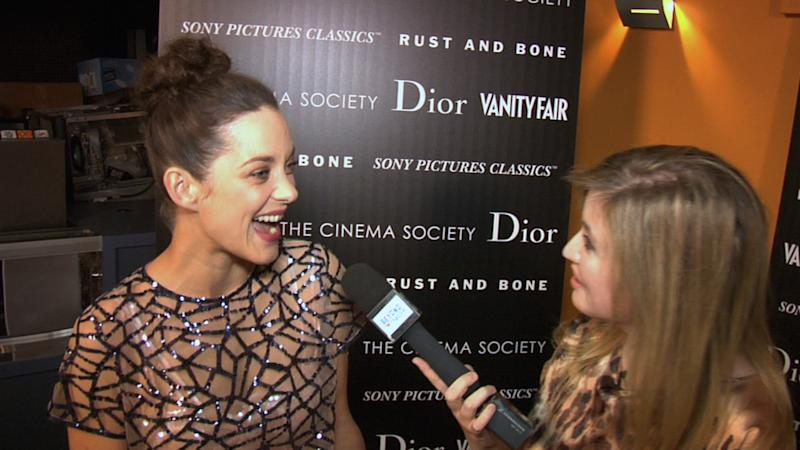WATCH: 'Rust And Bone' Star Marion Cotillard Does Not Like The Term 'Killer Whale'
