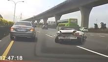 經典快沒了! S2000跑車國道自撞難維修