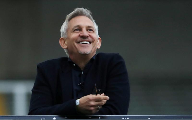 Gary Lineker says BBC director-general Tim Davie has never asked him to tone down tweets - OWEN HUMPHREYS