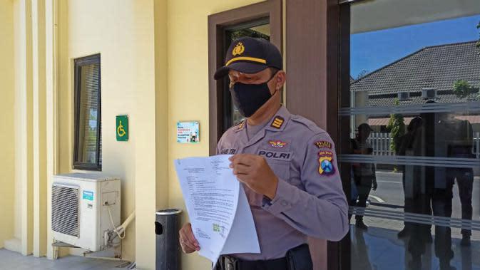 Kasat Sabhara Polres Blitar AKP Agus Hendro Tri Susetyo.(Foto: Liputan6.com/Dian Kurniawan)