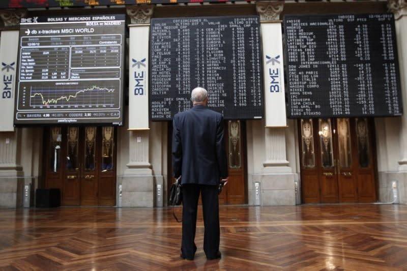 """Saham Spanyol """"rebound"""" dari kerugian, Indeks IBEX 35 naik 1,13 persen"""
