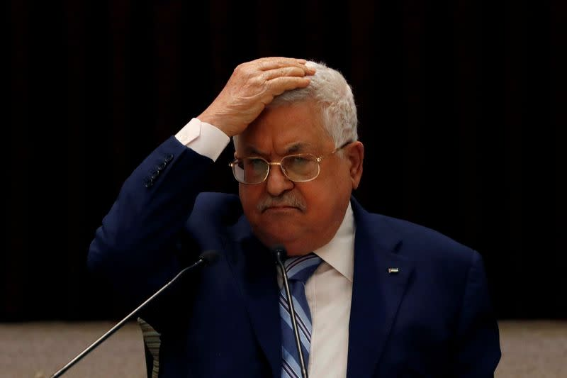 Palestinians set to soften stance on UAE-Israel normalisation - draft statement