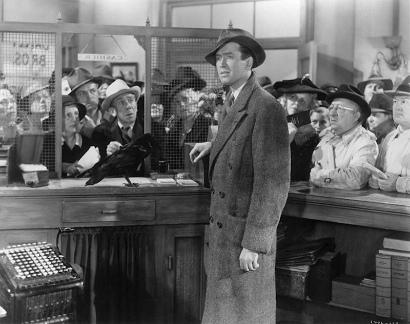 Kelly Stewart Harcourt was not happy with Donald Trump being compared to George Bailey (Image by RKO Radio Pictures)