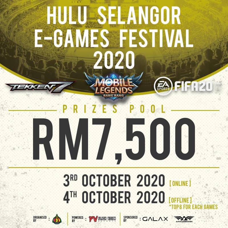 Hulu Selangor E-Games Festival 2020